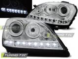 Predné svetlá Mercedes W164 ML/M 05-07 chrom