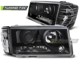 Predné svetlá Mercedes W201/190 12/82-05/93 černá