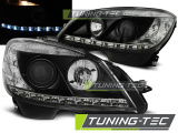 Predné svetlá Mercedes W204 07-10 černá