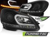 Predné svetlá Mercedes W204 11-14 černá
