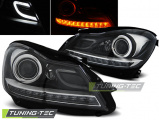 Predné svetlá Mercedes W204 11- černá