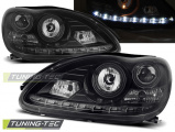 Predné svetlá Mercedes W220 S-Class 09/98-05/05 černá