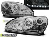 Predné svetlá Mercedes W220 S-Class 09/98-05/05 chrom