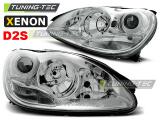 Predné svetlá Mercedes W220 S-Class 10/02-05/05 chrom xenon