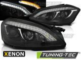 Predné svetlá Mercedes W221 05-09 černá xenon
