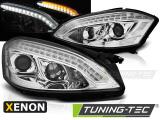 Predné svetlá Mercedes W221 05-09 chrom xenon