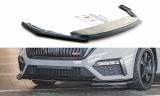 Přední spoiler nárazníku Škoda Octavia RS Mk4 2020 -