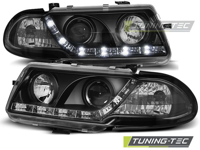 Predné svetlá Opel Astra F 09/91-08/94 černá TUNINGTEC