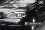 Predné svetlá Opel Astra G 09/97-02/04 Angel Eyes chrom TUNINGTEC