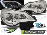 Predné svetlá Opel Corsa D 11-14 DRL chrom
