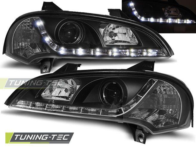 Predné svetlá Opel Tigra 09/94-12/00 černá TUNINGTEC