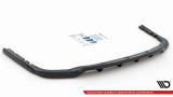 Stredový spojler pod zadný nárazník BMW X7 M G07 2018 - Maxtondesign