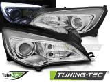 Predné svetlá Opel Astra J 10-15 TUBE LIGHT chrom