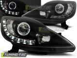 Predné svetlá Peugeot 107 05-11 černá