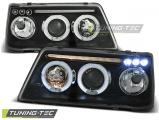 Predné svetlá Peugeot 205 09/83-10/96 Angel Eyes černá