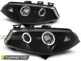 Predné svetlá Renault Megane II 11/02-12/05 Angel Eyes černá