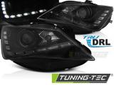 Predné svetlá Seat Ibiza 6J 12-15 TRUE DRL černá