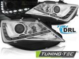 Predné svetlá Seat Ibiza 6J 12-15 TRUE DRL chrom