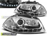 Predné svetlá Seat Ibiza 6L 04/02-08 chrom