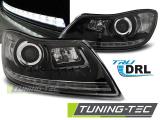 Predné svetlá Skoda Octavia 09-12 TRUE DRL černá