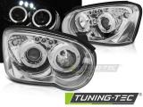 Predné svetlá Subaru Impreza II GD 03-05 Angel Eyes chrom