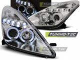 Predné svetlá Toyota Celica T230 99-05 Angel Eyes chrom