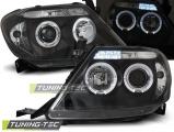 Predné svetlá Toyota Hilux 05-11 Angel Eyes černá