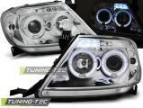 Predné svetlá Toyota Hilux 05-11 Angel Eyes chrom