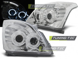 Predné svetlá Toyota Land Cruiser 120 03-09 Angel Eyes chrom