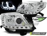 Predné svetlá Toyota Land Cruiser 150 09-13 TUBE chrom