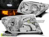 Predné svetlá Toyota Land Cruiser FJ200 07-12 chrom led