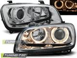 Predné svetlá Toyota Rav4 06/94-06/00 Angel Eyes chrom