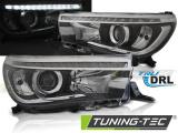 Predné svetlá Toyota Hilux 16- led  TRUE DRL černá