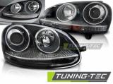 Predné svetlá VW Golf 5 10/03-09 SPORT černá