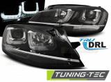 Predné svetlá VW Golf 7 11/12-17 černá/chrom led