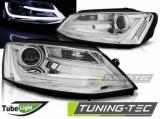 Predné svetlá VW Jetta VI 1/11-18 chrom