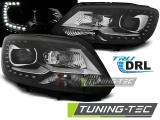 Predné svetlá VW Touran II 08/10-15 TRUE DRL černá
