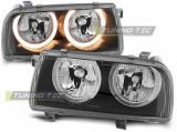 Predné svetlá VW Vento 01/92-08/98 Angel Eyes černá