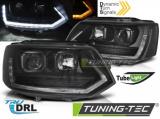 Predné svetlá VW T5 2010-15 TUBE T6 chrom