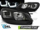 Predné svetlá VW Golf 6 08-12 černá/černá led