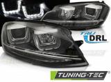 Predné svetlá VW Golf 7 11/12-17 černá led