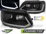 Predné svetlá VW T5 2010-15 černá SEQ
