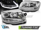 Predné svetlá VW T6 15-19 chrom DRL