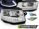 Predné svetlá VW T6 15-19 DRL chrom