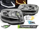 Predné svetlá VW T6 15-19 TUBE chrom DRL SEQ