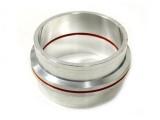 Set přírub kruhových na v-band 76mm (3 palce) - hliníkové