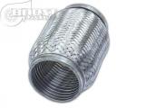 Vlnovec Boost Products 150 x 57mm nerez - s vnitřním vlnitým zesílením (interlock)
