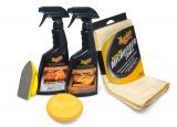 Meguiar 's Heavy Duty Leather Care Kit - kompletná sada na čistenie a ochranu kožených povrchov