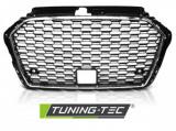 Maska šport chróm čierna Audi A3 (8V) 17- TUNINGTEC