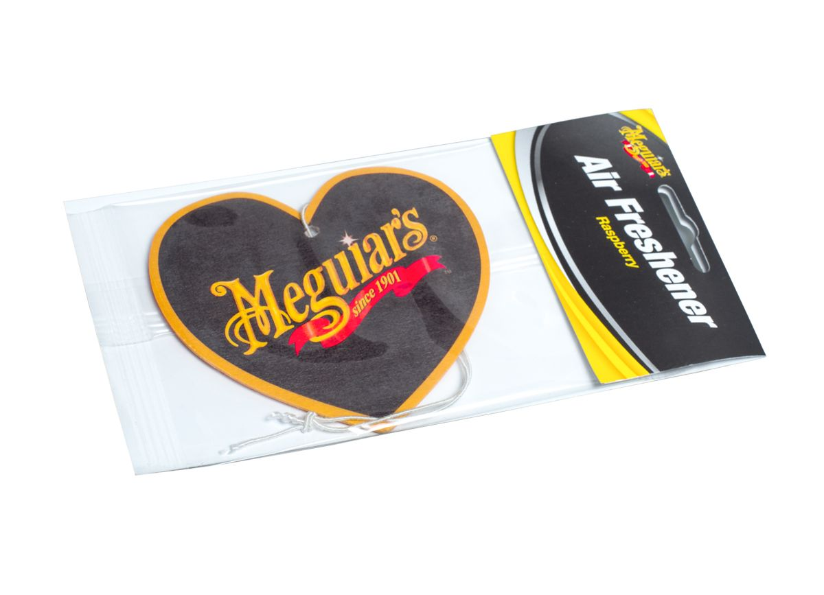 Meguiar's osvěžovač vzduchu ve tvaru srdce, malina Meguiars